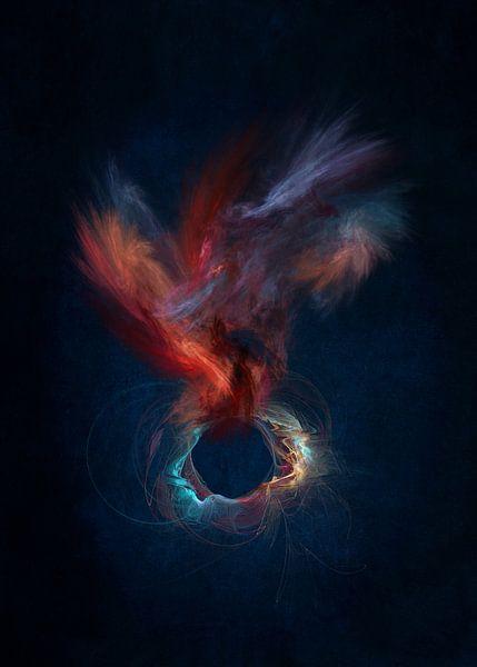 Fraktale abstrakte Kunst Geist #Fraktale #Abstrakt von JBJart Justyna Jaszke