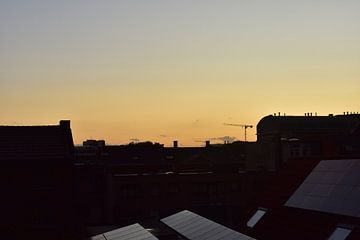Rustige zonsondergang van Elke Dag Een Foto