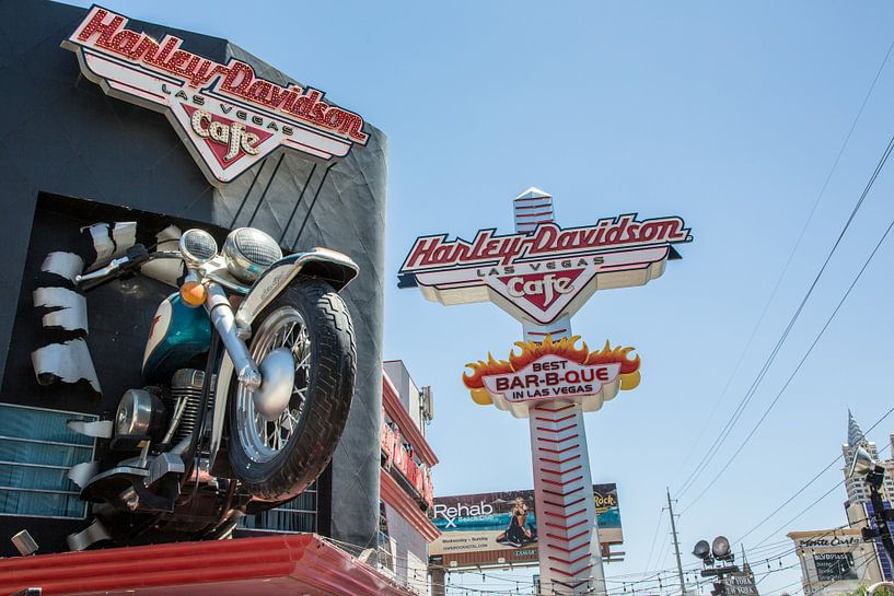 Harley Davidson Café Las Vegas van Hans Jansen