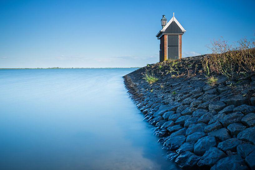 Haven huisje in Volendam van Chris Snoek