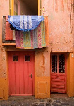 Kleuren in Collioure, Frankrijk. von Rens Kromhout