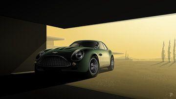 Aston Martin DB4 Zagato von Thomas Bigwood