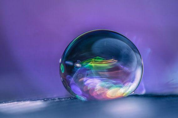 Miniscuul drupje met prisma effect van Bert Nijholt