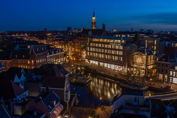 Centrum van Leiden van John Ouds