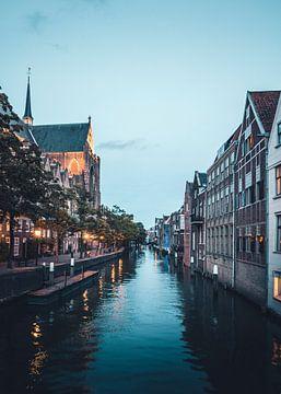 Gracht in Dordrecht van Abby's Voyage