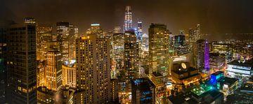 Skyline san francisco von Dave Verstappen