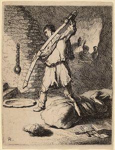 Rembrandt van Rijn Onthoofding van Johannes de Doper van