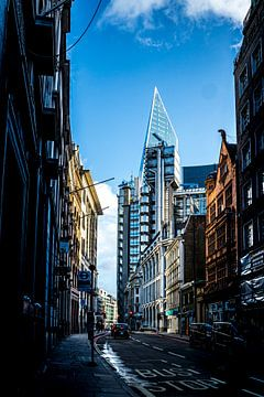 Eine Straße in London von Helga van de Kar
