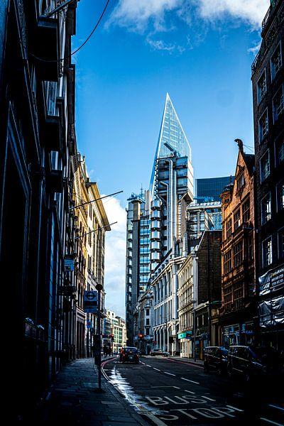 Een straat in London van Helga van de Kar