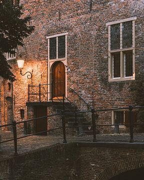 Altes Gebäude in den Amersfoorter Mauerhäusern von Michiel Dros
