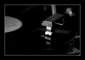 Cool Gramophone van