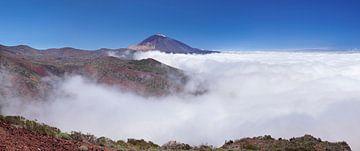 Pico del Teide, Tenerife, Canarische Eilanden, Spanje van Markus Lange