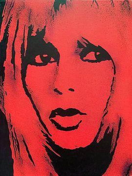 Brigitte Bardot - BB van Kathleen Artist Fine Art