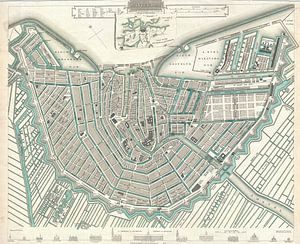 Amsterdam, Karte