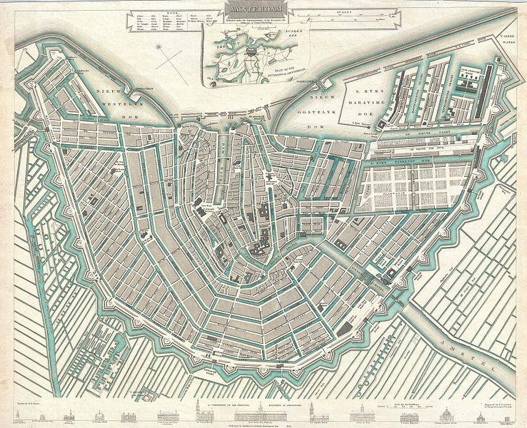 Amsterdam, Karte von Atelier Liesjes