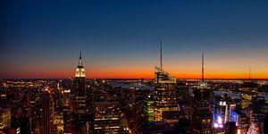 Zonsondergang New York