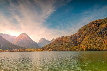 Aussicht über den Bergen beim Achensee Tirol, österreich sur Richard Zeinstra