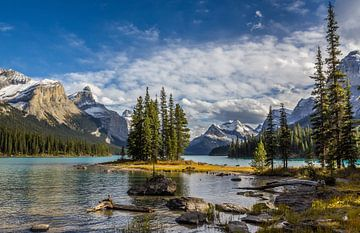 Spirit Island, Maligne Lake von Adelheid Smitt