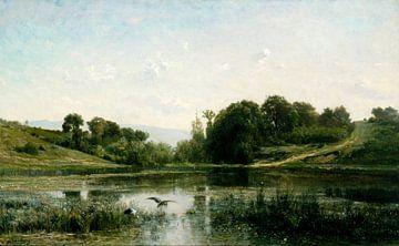 Die Teiche von Gylieu, Charles-François Daubigny