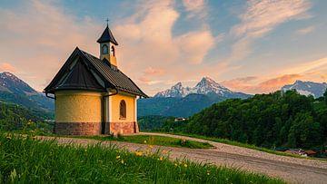 Kapelle Lockstein, Berchtesgaden, Bayern, Deutschland von Henk Meijer Photography
