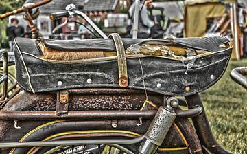 Sattel eines Mopeds von Ans Bastiaanssen