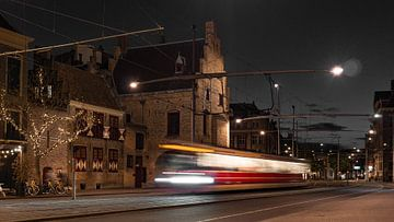 Straßenbahn 1 von Scheveningen nach Delft von Michael Fousert