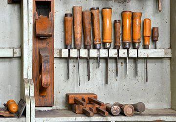 Werkstatt eines Tischlers von Heiko Kueverling