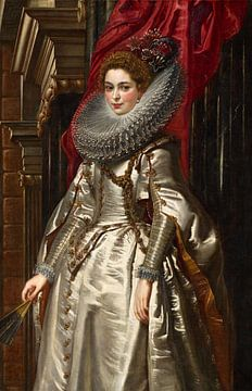 Marchesa Brigida Spinola Doria Doria, Peter Paul Rubens.