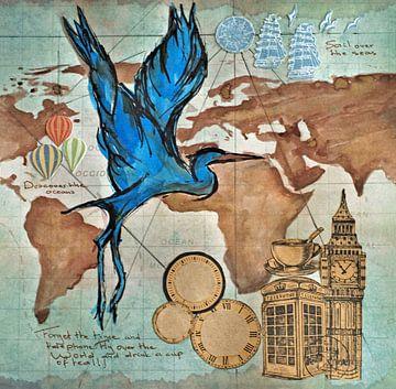 Travel the world van Ineke de Rijk