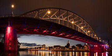 Nachtfoto Rijnbrug Arnhem von Fokko Erhart