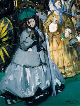 Frauen bei den Rennen, Édouard Manet