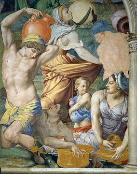 Der Sturz des Manna, Bronzino