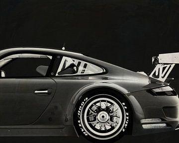 Porsche GT3 RS Cup 2008 B&W van Jan Keteleer