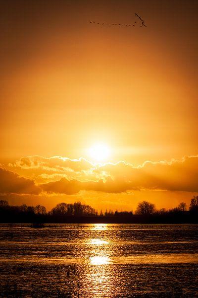 Nieuwe Zonsondergang van Joram Janssen