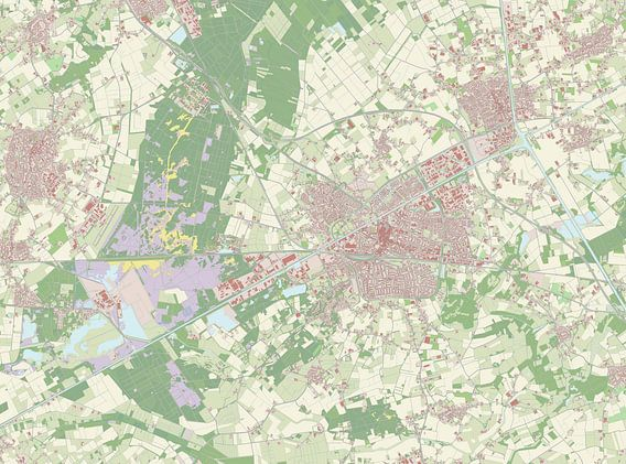 Kaart vanWeert