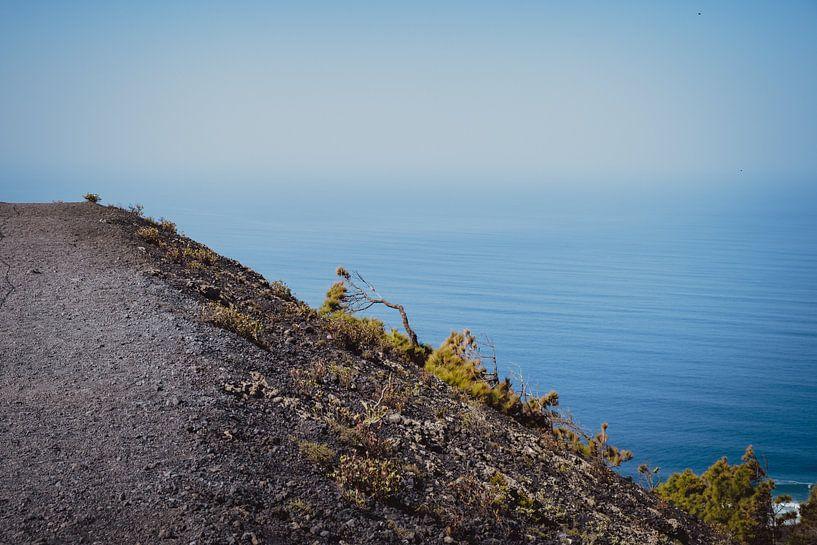 Partie du paysage situé autour du volcan San Antonio (2) | La Palma sur Rob van der Pijll