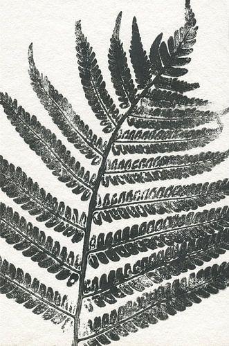 Tropisch blad van Prachtige Prints