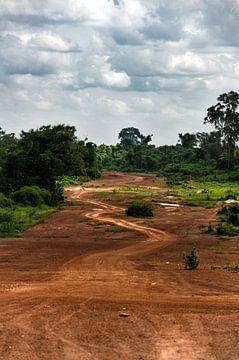 Laos, Vientiane, uitzicht van Eline Willekens