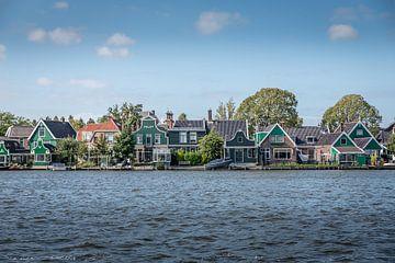 Huisjes aan de Zaanse Schans van Okko Meijer