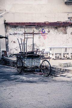 Rikscha George Town von Alexander Wasem
