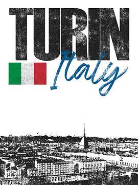 Turin Italie sur Printed Artings