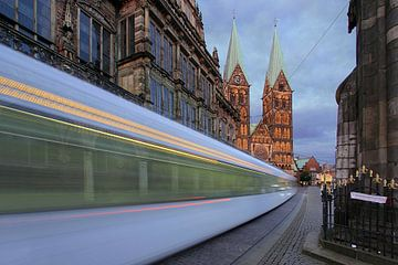 Tram Bremen van Patrick Lohmüller