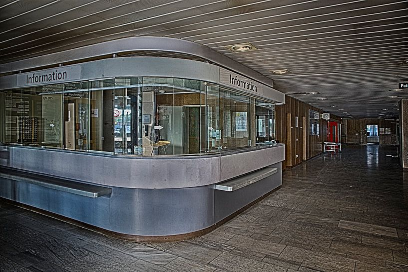 Informationsstation van SER Sanierung im Erd- und Rückbau GmbH
