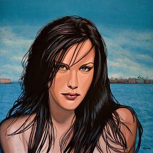 Liv Tyler schilderij