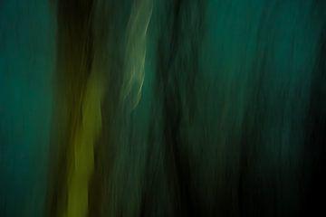 Abstract dark blueish van Su The Dreamoffice Director
