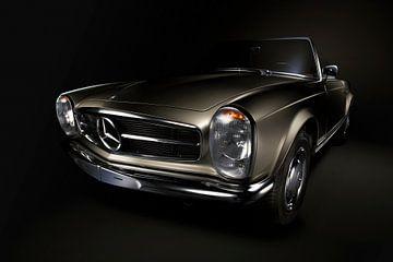 Mercedes-Benz 230SL Pagoda 1966 Goud. van Thomas Boudewijn