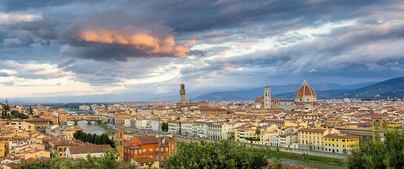 Panorama Florenz von Rob van Esch