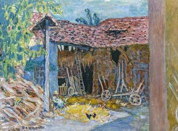 La grange - Pierre Bonnard - 1919 von De Mooiste Kunst