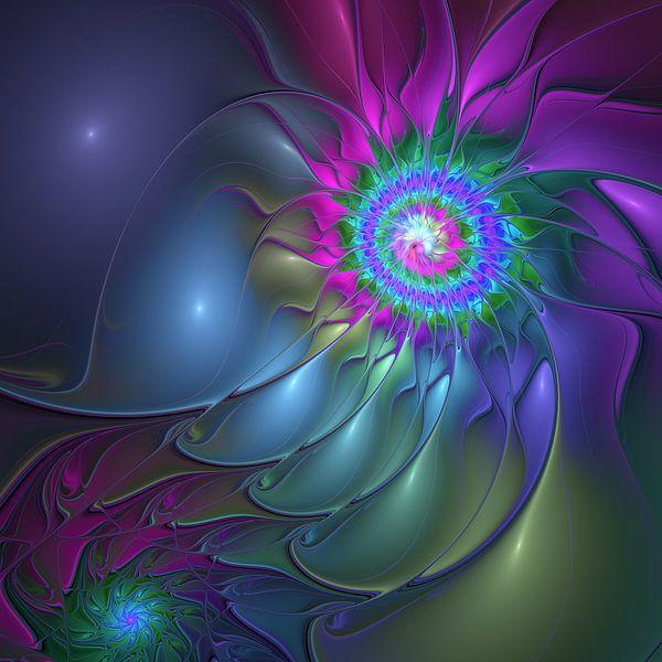 Abstract Flower van gabiw Art