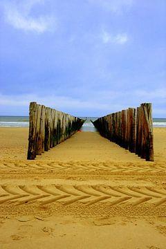 golfbreker Zeeuwse kust van